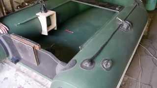 видео Cтолик для эхолота на лодку ПВХ своими руками чертежи
