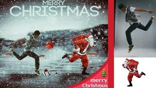 PicsArt tutorial l manipulation & merry christmas 2018  &Happy New Year 2018 Images