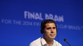 Fernando Hierro to coach Spain at World Cup following removal of Lopetegui