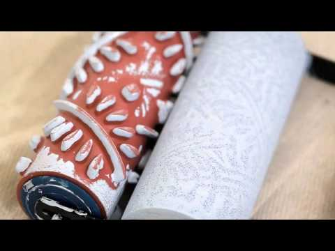 How To Achieve A Patterned Roller Effect - Dulux