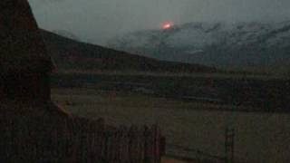 Iceland evacuate resident after volcanic eruption