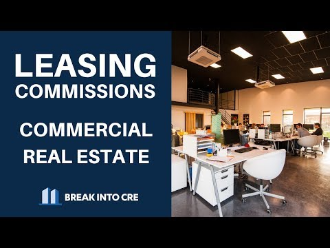 Commercial Real Estate Leasing Commissions - How To Calculate Leasing Commissions In Excel