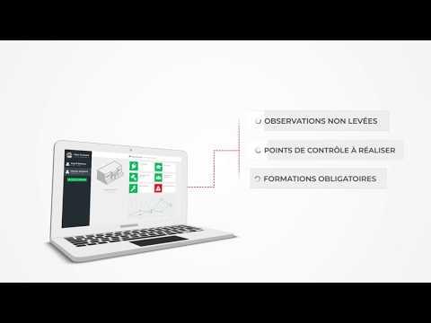Batiregistre - la sécurité connectée - motion design