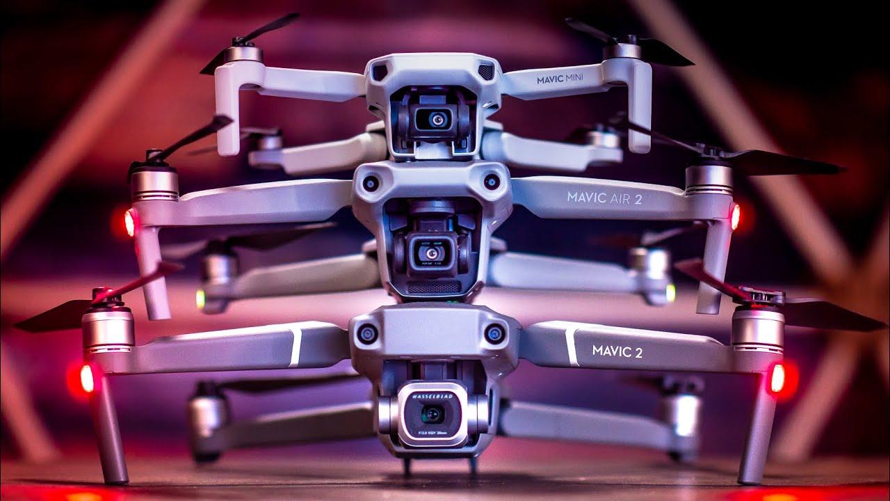 Dji Mavic Air 2 Vs Every Other Dji Drone Youtube
