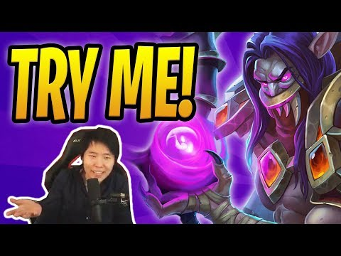 YOU THINK DOUBLE KELESETH WILL STOP ME?! | Control Warlock | Rastakhan's Rumble | Hearthstone