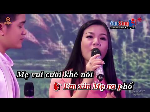 [Karaoke] Hoa Mười Giờ (SC) - Dương Hồng Loan_Khưu Huy Vũ (Beat HD)