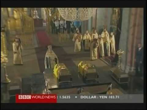 Confirmed Remains Belong to Tsarevich Alexei and Grand Duchess Maria (Anastasia) BBC