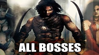 Prince of Persia - Warrior Within - All Bosses (With Cutscenes) 1080p60 PC HD