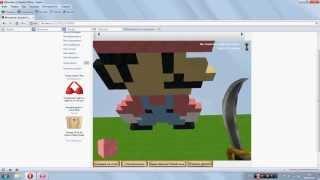 Строим Марио в Копатель Онлайн(Это видео для тех кто учится строить фигуры в Копатель Онлайн., 2013-05-25T07:03:48.000Z)