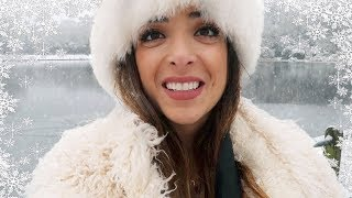 SNOW EXCITEMENT IN LONDON! | Vlogmas Day 10