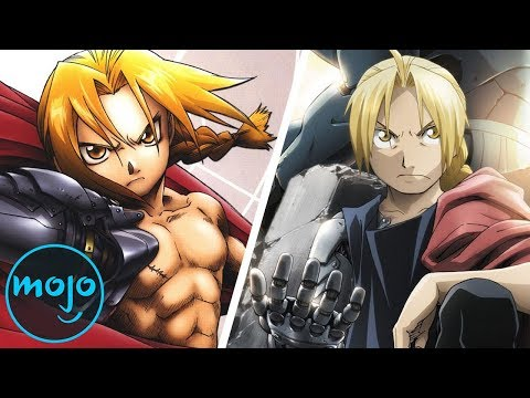 Top 10 Anime Reboots