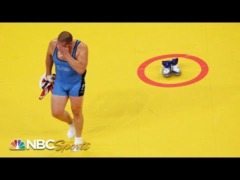 Ever Wonder: Why Do Wrestlers Leave Their Shoes On The Mat? | NBC Sports