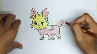 How to Draw Lilipup Pokemon