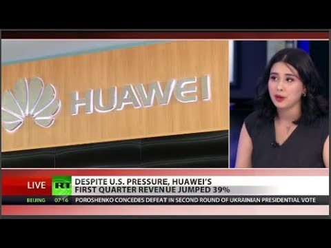 RT America: US 'loser attitude' toward Huawei isn't working