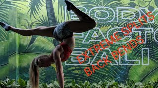 Extreme splits, back bends and handstands training MUST DO