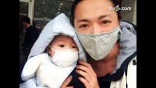 姚晨感慨北京雾霾天气 晒儿子戴口罩照