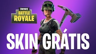 FREE EPIC SKIN!! [TEMP 4] How to win free skin at Fortnite Battle Royale (Twitch Prime)