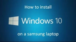 Problem installing Windows 10 on Samsung laptop - error 0xC1900101 - 0x20017