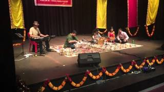 Pooja  Gupta's performance at Ragas Annual  Concert 2015
