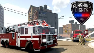 Flashing Lights Game - Fire Fighter Shift! - Simul8 Gaming