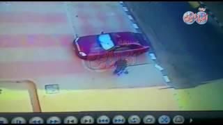 أخبار اليوم  كاميرات المراقبة ترصد حادث سرقه داخل إحدى العمارات السكنية بالعبور