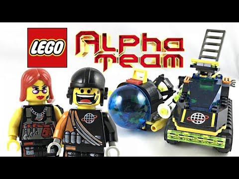 LEGO Alpha Team ATV Review And Unboxing! 2001 Set 6774!
