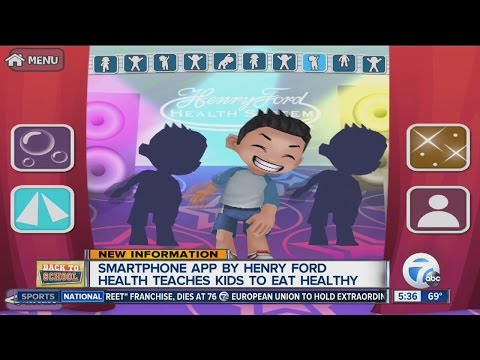 Smartphone app by Henry Ford Health teaches kids to eat healthy