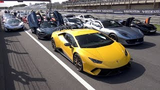 $25+ MILLION SUPERCAR GATHERING IN THE NETHERLANDS!