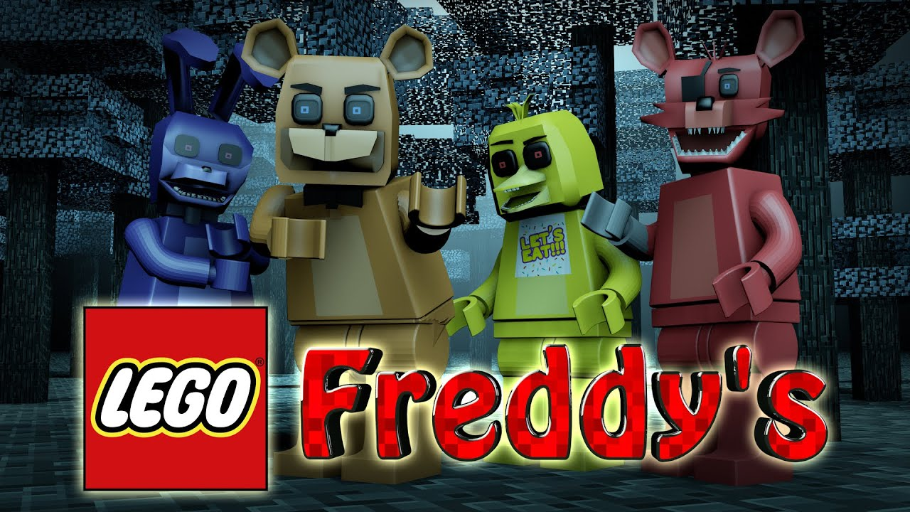 Lego challenge five nights at freddy s mod freddy 5naf lego