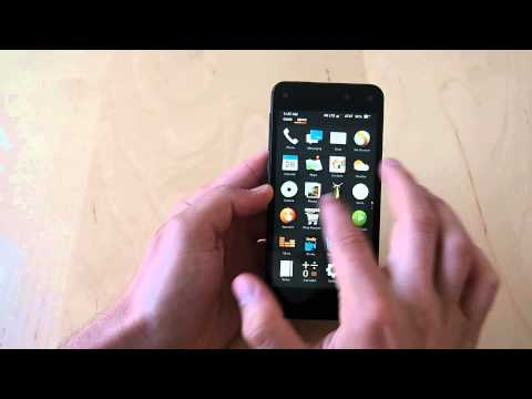 Amazon Fire Phone tutorial - Tour of OS and software