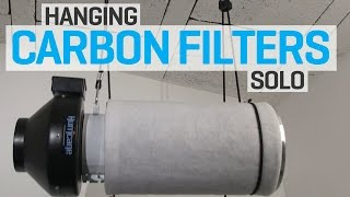 Instructions on how to install a Phresh carbon filter in an indoor ...