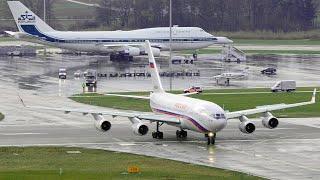 Боинг 747 и Ил-96 . Аэропорт Внуково / Boeing 747 and IL-96