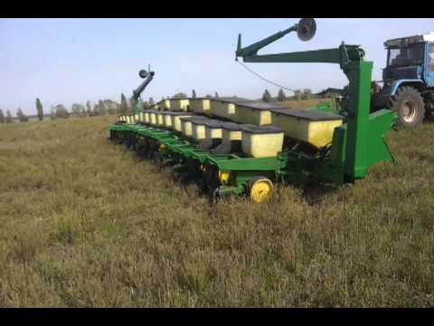John Deere 7000 16row Youtube