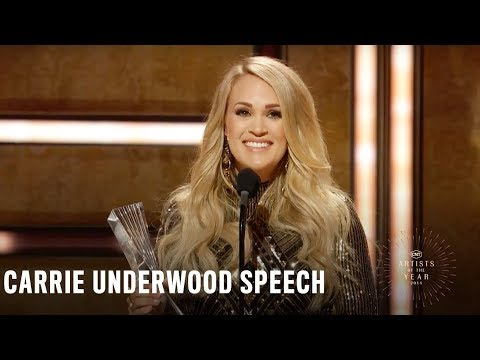 Carrie Underwood | 2018 CMT Artists Of The Year Acceptance Speech