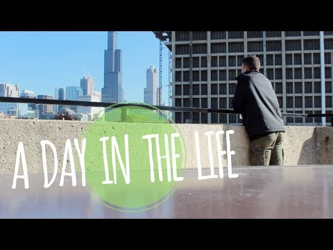 A DAY IN THE LIFE || LEVI PARKS || UNIVERSITY OF ILLINOIS AT CHICAGO