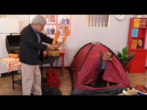 Alberto Yukimori organizó un campamento para su amigo Olallanta Chumala