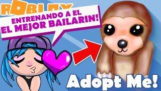 Adoptez-moi nouvel animal de compagnie le meilleur danseur et grattoir m'adopter roblox m'adopter