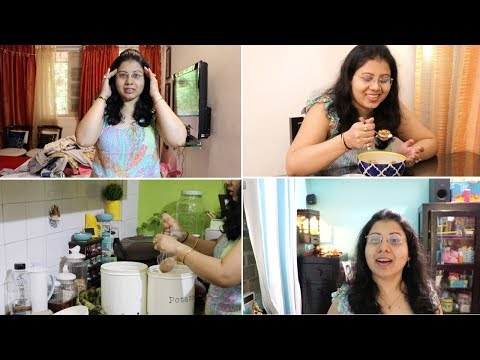 Managing Daily Households | Day Skin care | Kid's Study | Dinner Routine | Maitreyee's Passion