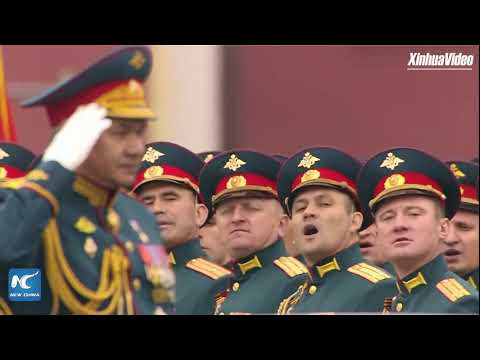 LIVE: Russia holds Victory Day parade on Moscow's Red Square