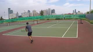 6/3/18 Tennis - Points and Volleys