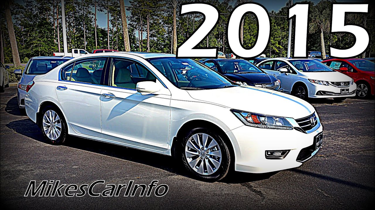 2015 Honda Accord Sedan EX-L w/Navigation