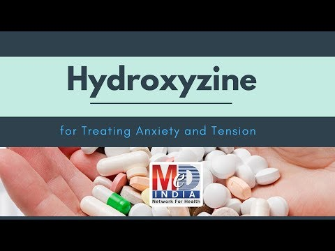 Hydroxyzine For Treating Anxiety And Tension