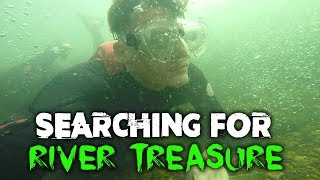 Fishing Underwater in a Crystal Clear Pond! (Caught a Fish 26ft Deep)