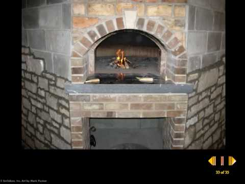 How To Make A Wood Burning Pizza Oven Youtube