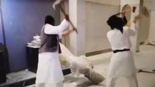BUILD-UP TO WW3 - ISIS Destroys Ninive Museum Artifacts