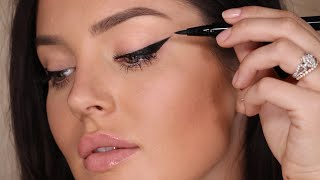 In Depth Winged Liner Tutorial! Updated Tips & Tricks 2018 \\ Chloe Morello