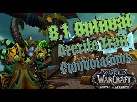 8.1 Battle of Dazal'alor Warlock Azerite Traits and Combos! Affliction, Demonology and Destruction!