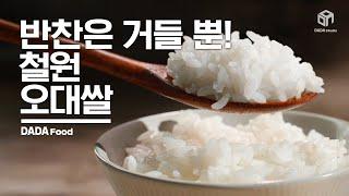[#다다푸드] 한공기 뚝딱! 철원오대쌀