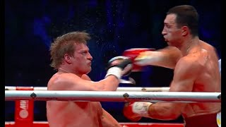 Wladimir Klitschko VS Alexander Povetkin Fight HD // Бой Владимира Кличко и Александра Поветкина(On 5 October 2013, the Olympic Stadium in Moscow hosted the biggest boxing event of the year: the long-awaited unification fight between heavyweight ..., 2014-04-22T09:26:03.000Z)