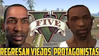 GTA V El Regreso de CJ, TOMMY VERCETTI Y CLAUDE SPEED A GTA 5 RockstarGames Oficial Responde